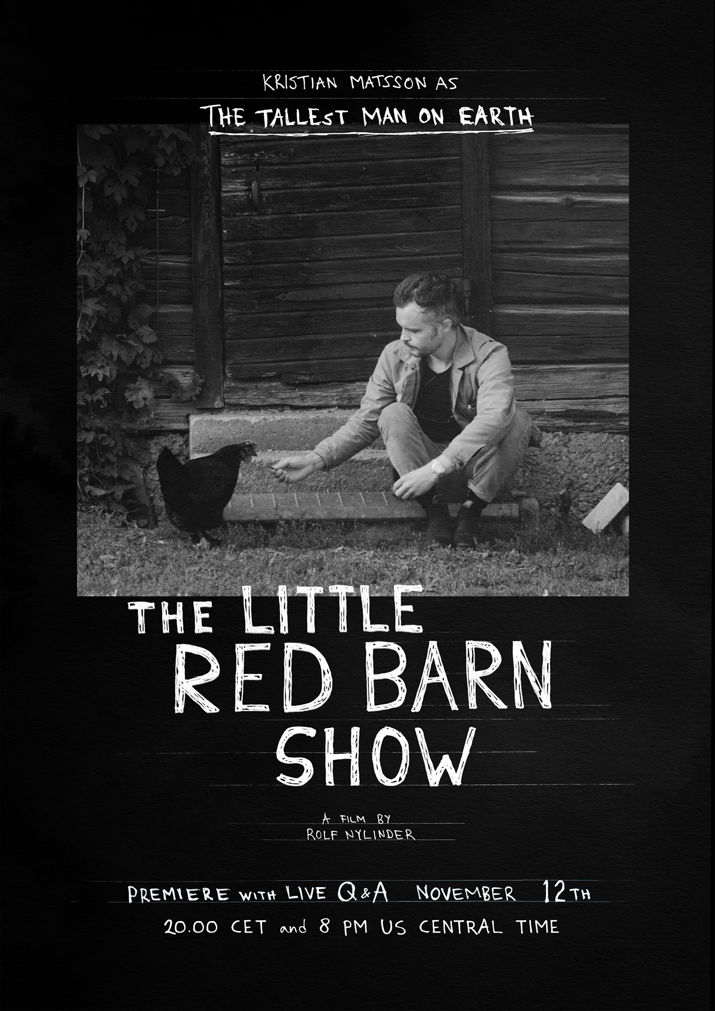 The Tallest Man On Earth - The Little Red Barn Show